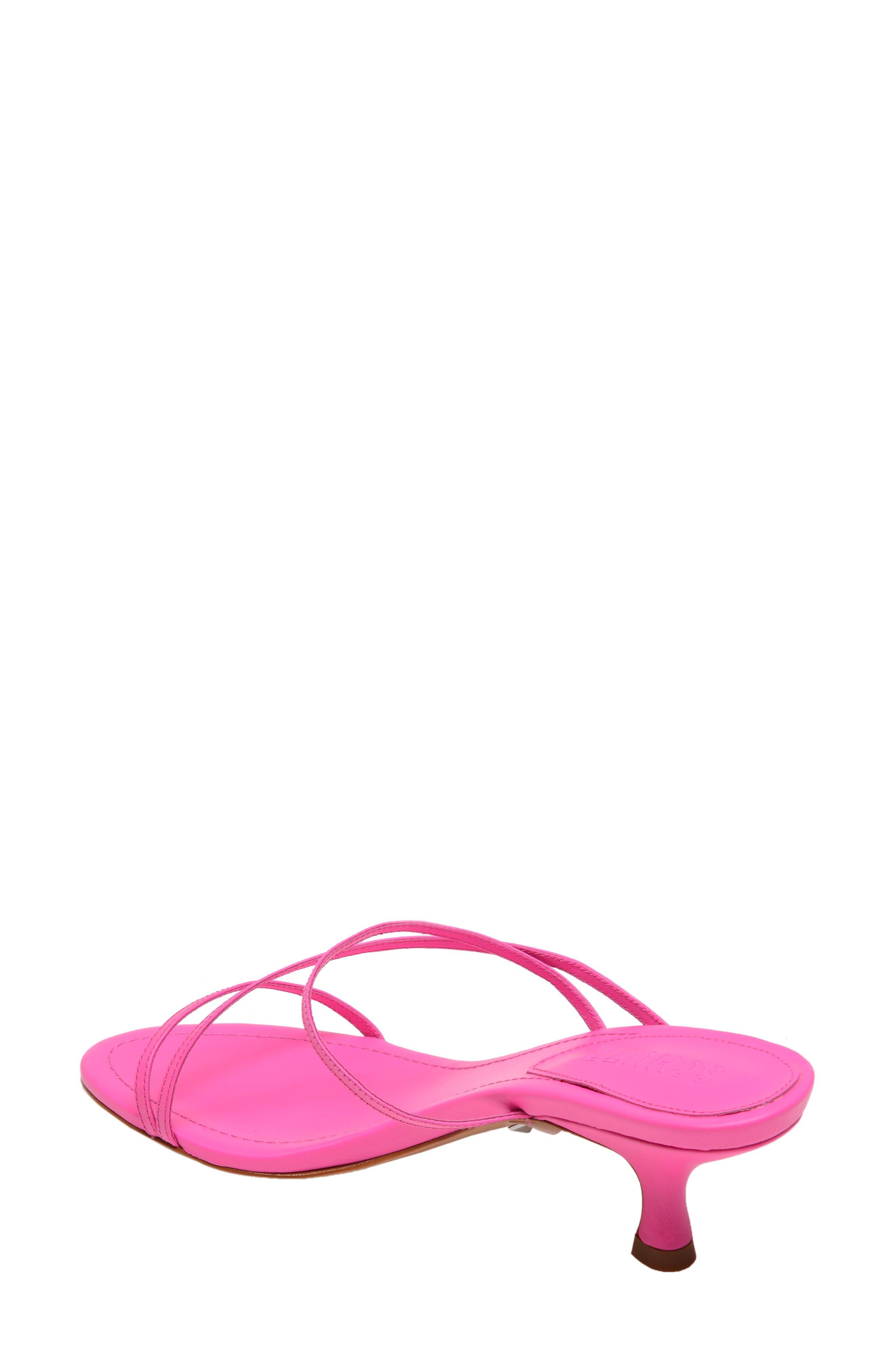 ,                             Evenise Slide Sandal,                             Alternate thumbnail 2, color,                             NEON PINK
