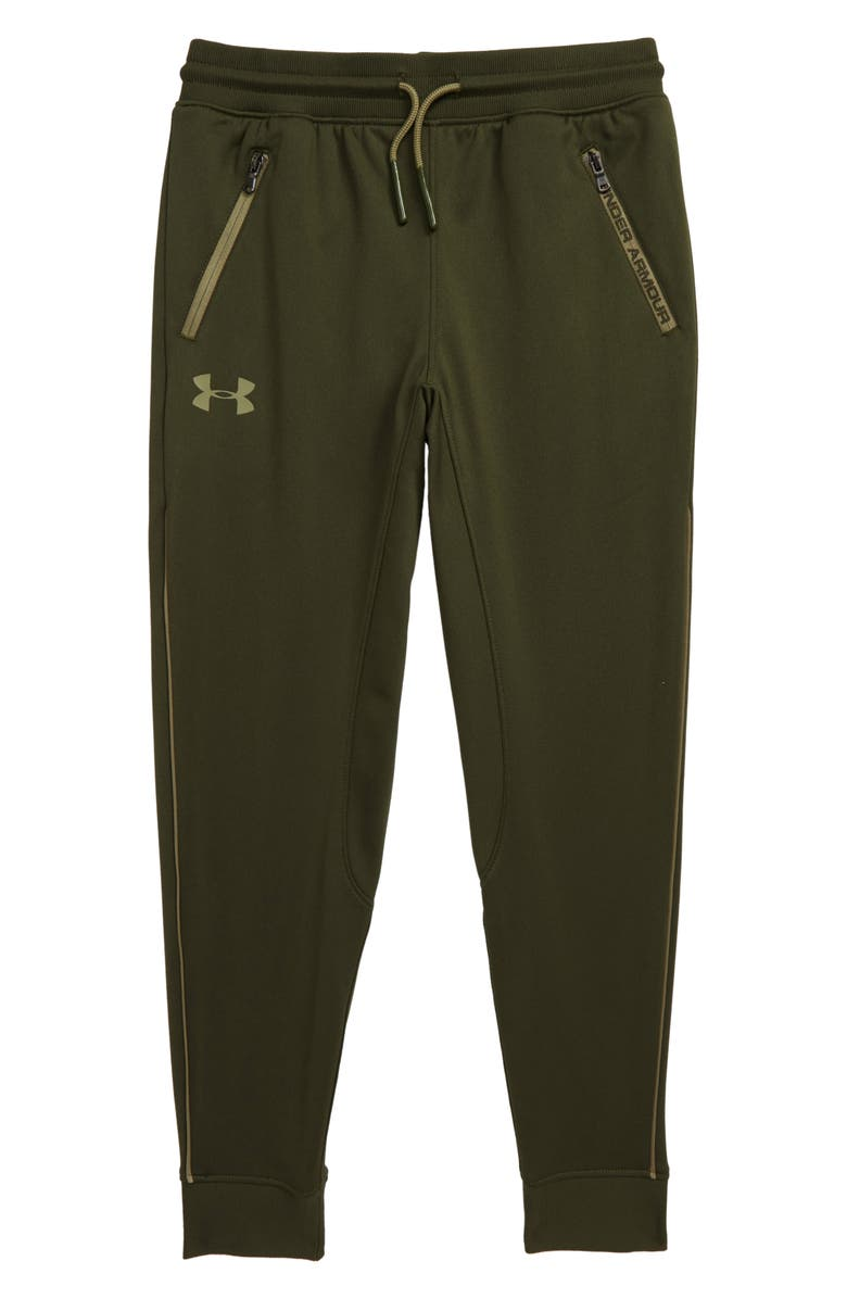 UNDER ARMOUR Pennant Tapered Sweatpants, Main, color, GUARDIAN GREEN/ OUTPOST GREEN