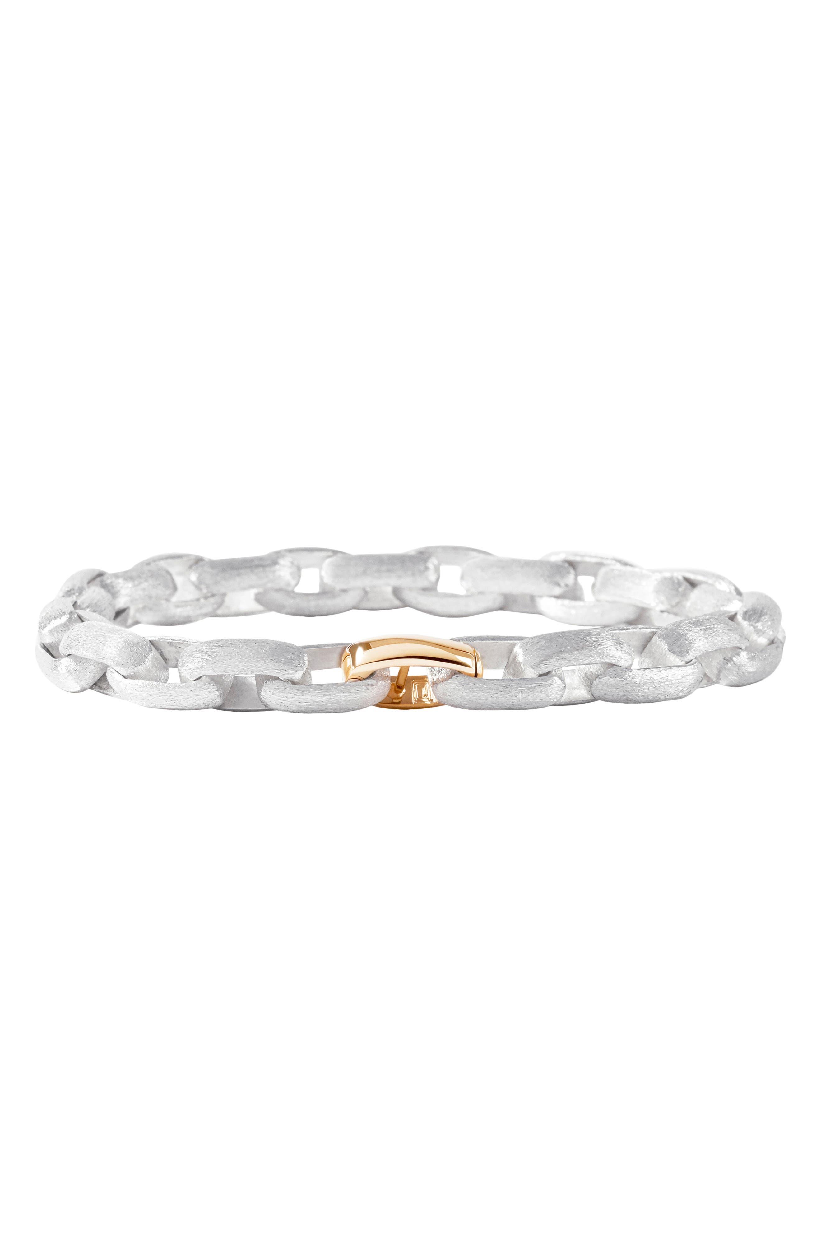 Reece Sterling Silver Link Bracelet