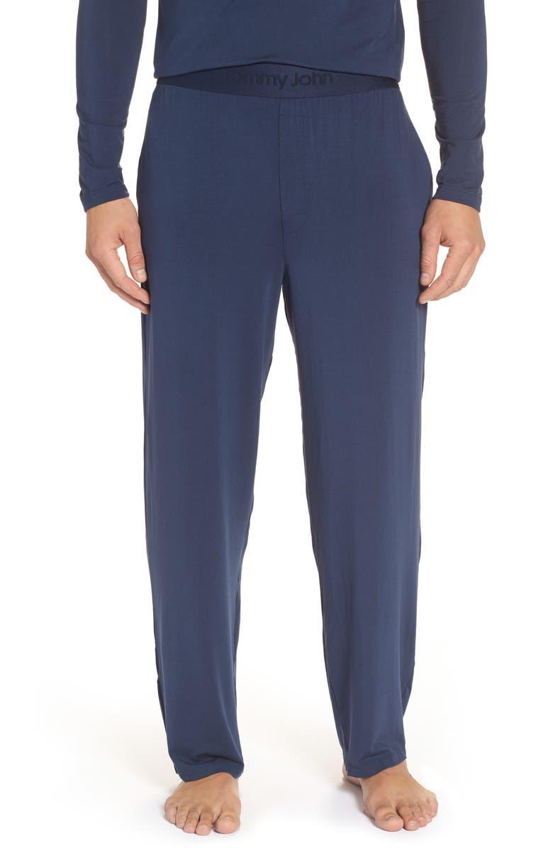 TOMMY JOHN Second Skin Lounge Pants, Main, color, DRESS BLUES