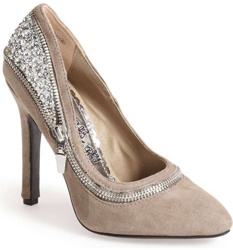 NAUGHTY MONKEY 'All I Want Is You' Glitter Back Pump, Main, color, 277