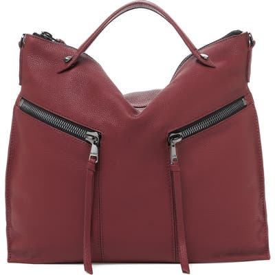 Botkier Trigger Convertible Hobo Bag - Red