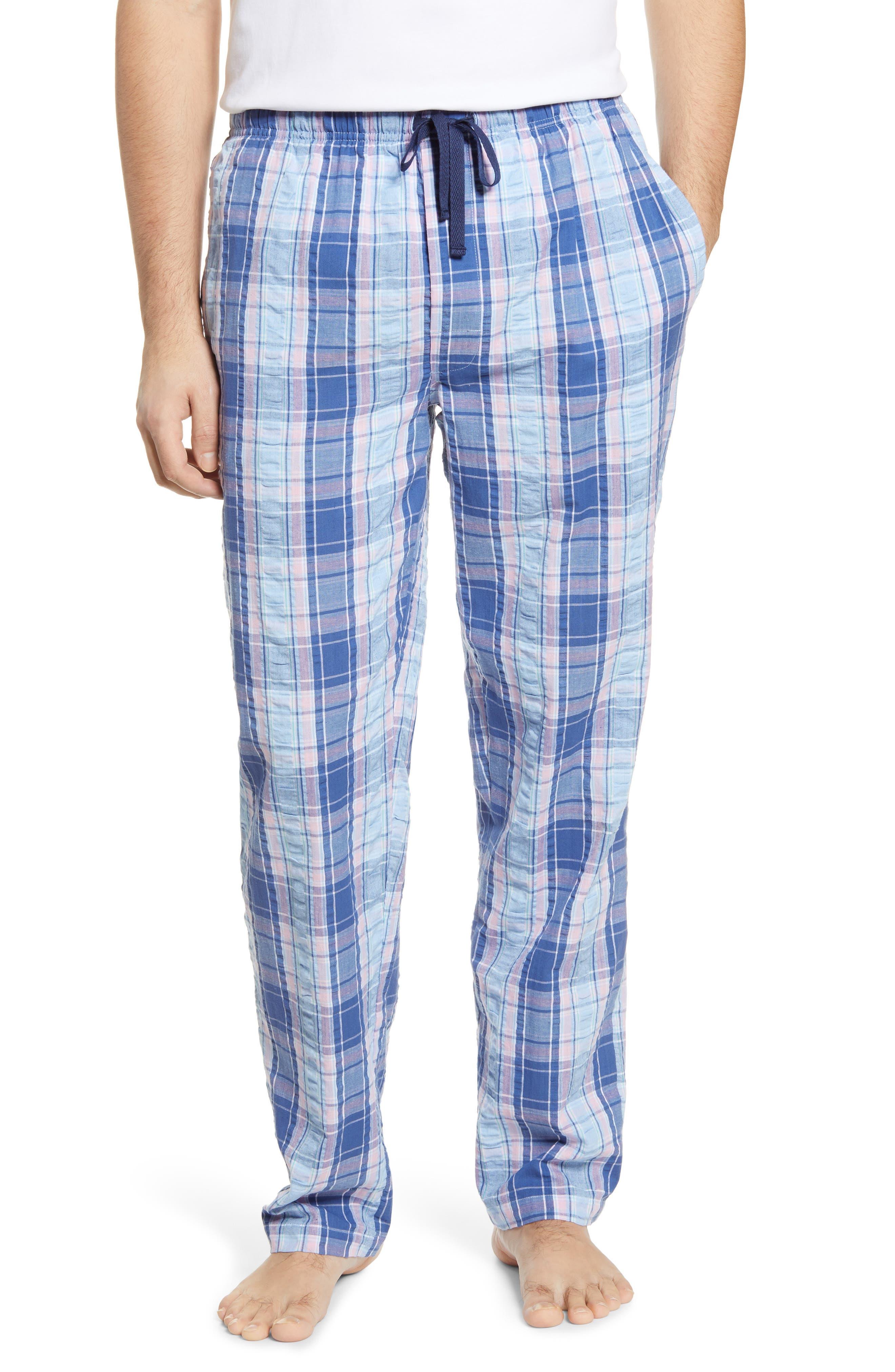 Great Lengths Seersucker Pants