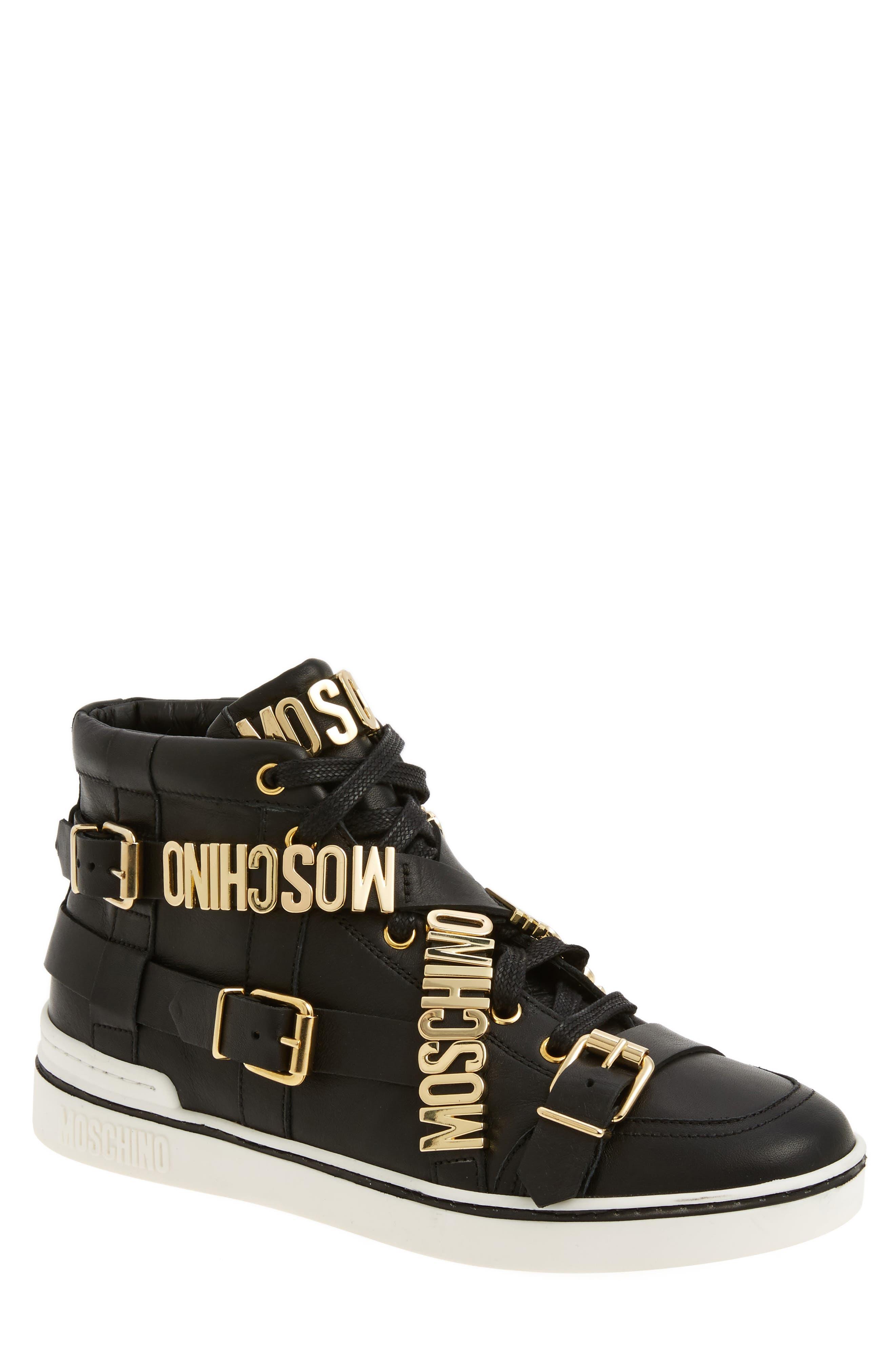 Moschino High Top Sneaker (Men) | Nordstrom
