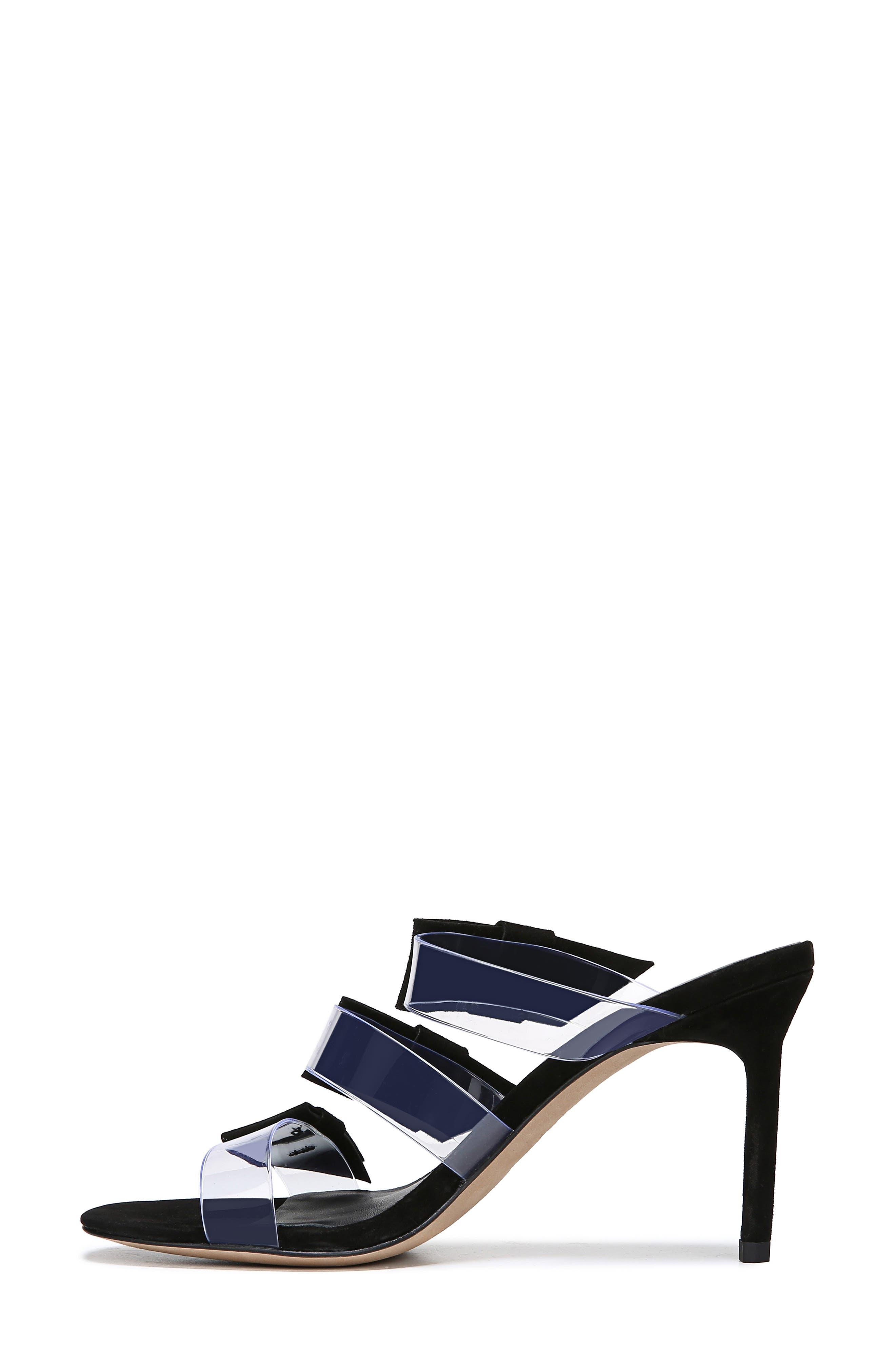 ,                             Amari Triple Strap Sandal,                             Alternate thumbnail 8, color,                             BLACK
