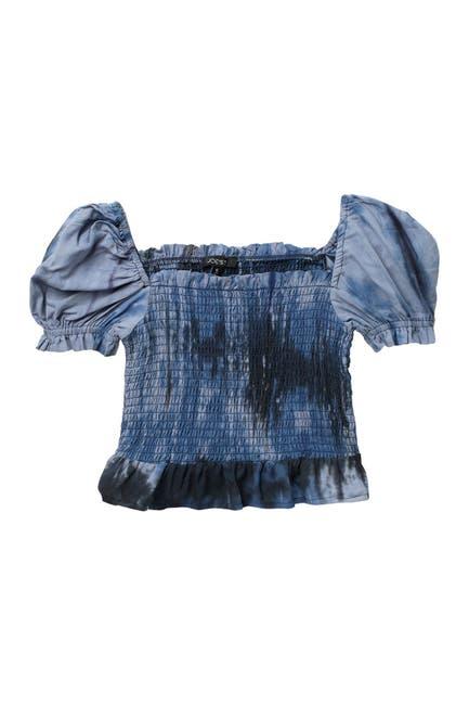 Image of Joe's Jeans Tie-Dye Smocked Top