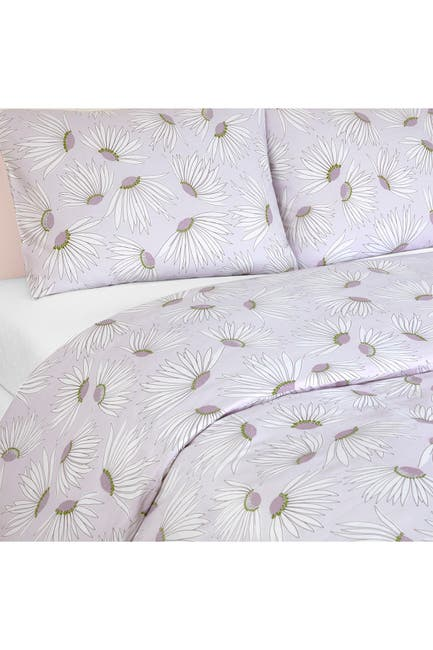 Image of kate spade new york falling flowers comforter 3-piece set - king - candy tuft