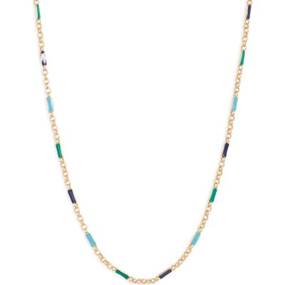 Gorjana Amalfi Enameled Necklace