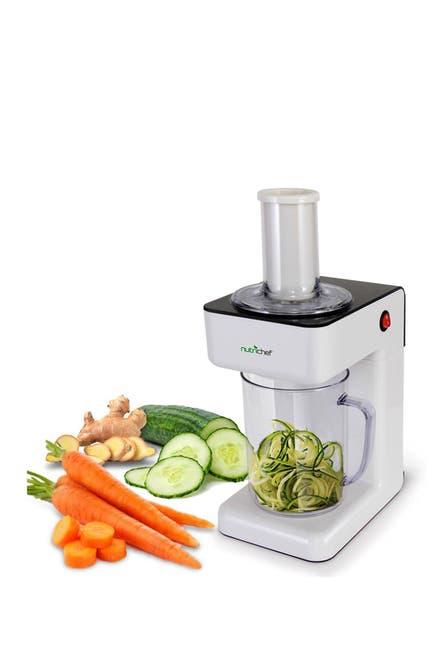 NutriChef Electric Fruit & Vegetable Spiral Slicer Peeler $46.97 (60% off)