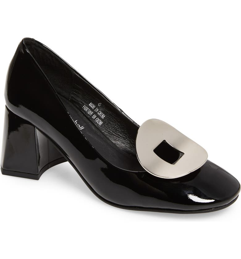 JEFFREY CAMPBELL Tippi Pump, Main, color, BLACK PATENT SILVER