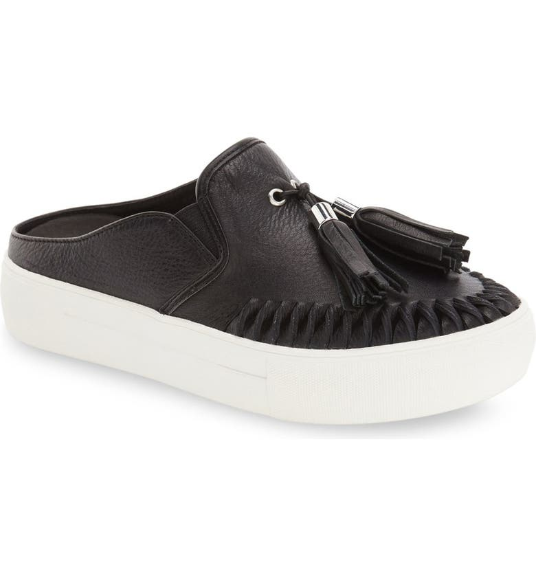 JSLIDES Tassel Slip-On Sneaker, Main, color, 015