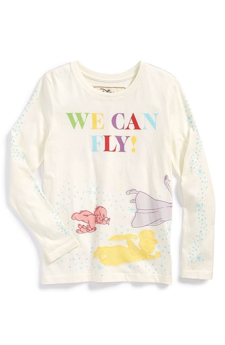 PEEK AREN'T YOU CURIOUS Peek 'Disney - We Can Fly' Graphic Long Sleeve Tee, Main, color, 105
