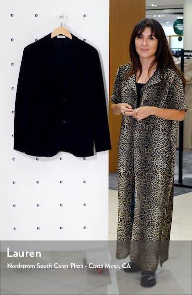 Trim Fit Military Knit Wool & Cotton Sport Coat, sales video thumbnail