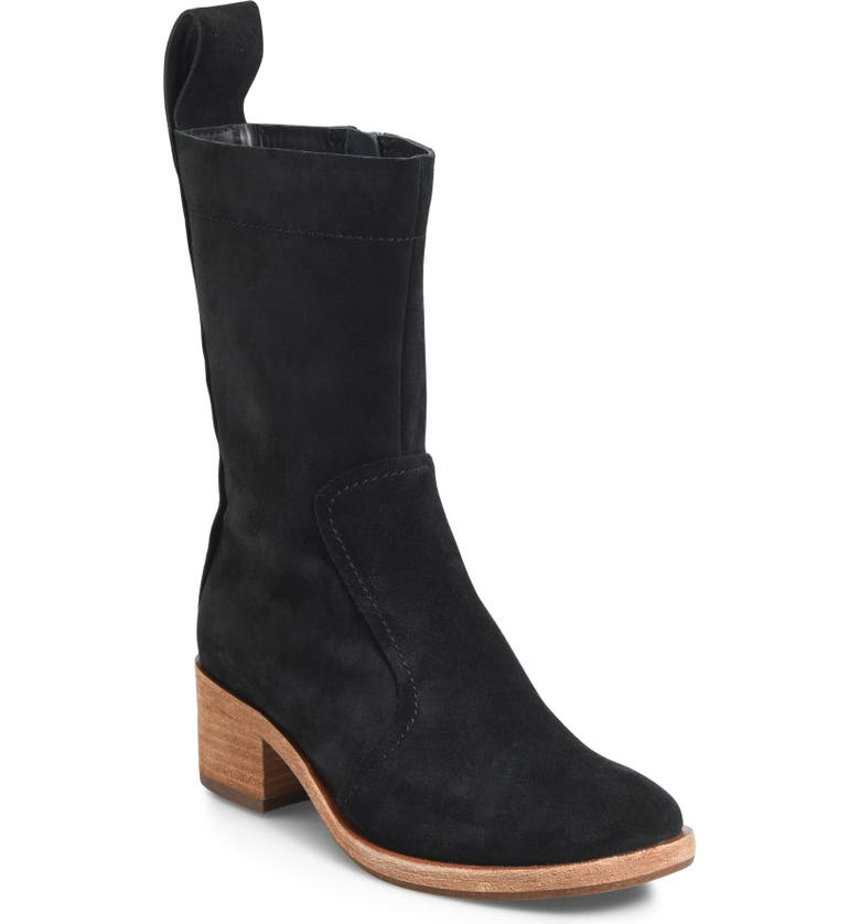 KORK-EASE<SUP>®</SUP> Jewel Boot, Main, color, BLACK SUEDE