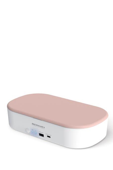 Merkury Innovations - Neutro UV Phone Sterilizer & Wireless Charger - Blush
