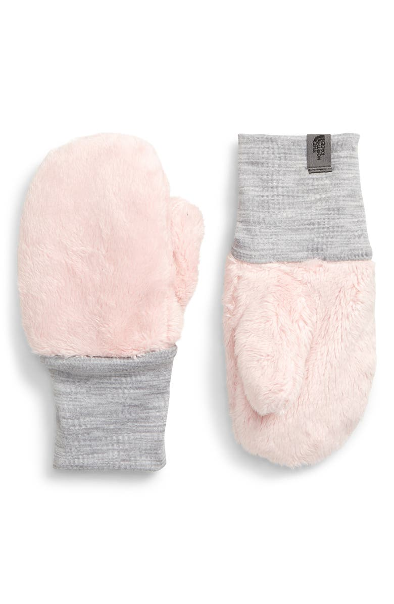 THE NORTH FACE Osilito Fleece Mittens, Main, color, PURDY PINK