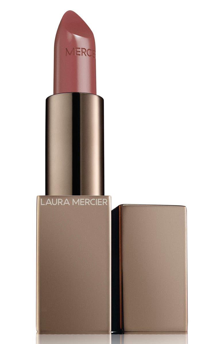 LAURA MERCIER Rouge Essentiel Silky Crème Lipstick, Main, color, BEIGE INTIME