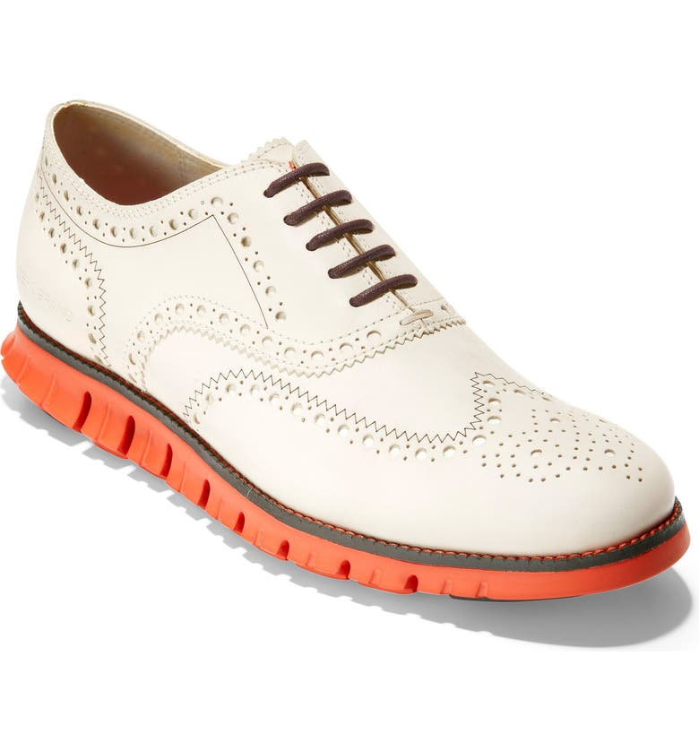 COLE HAAN 'ZeroGrand' Wingtip Oxford, Main, color, 100