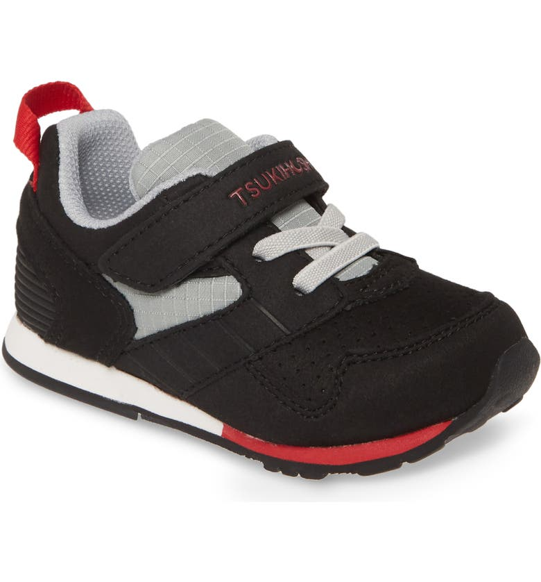 TSUKIHOSHI Racer Sneaker, Main, color, BLACK/ RED