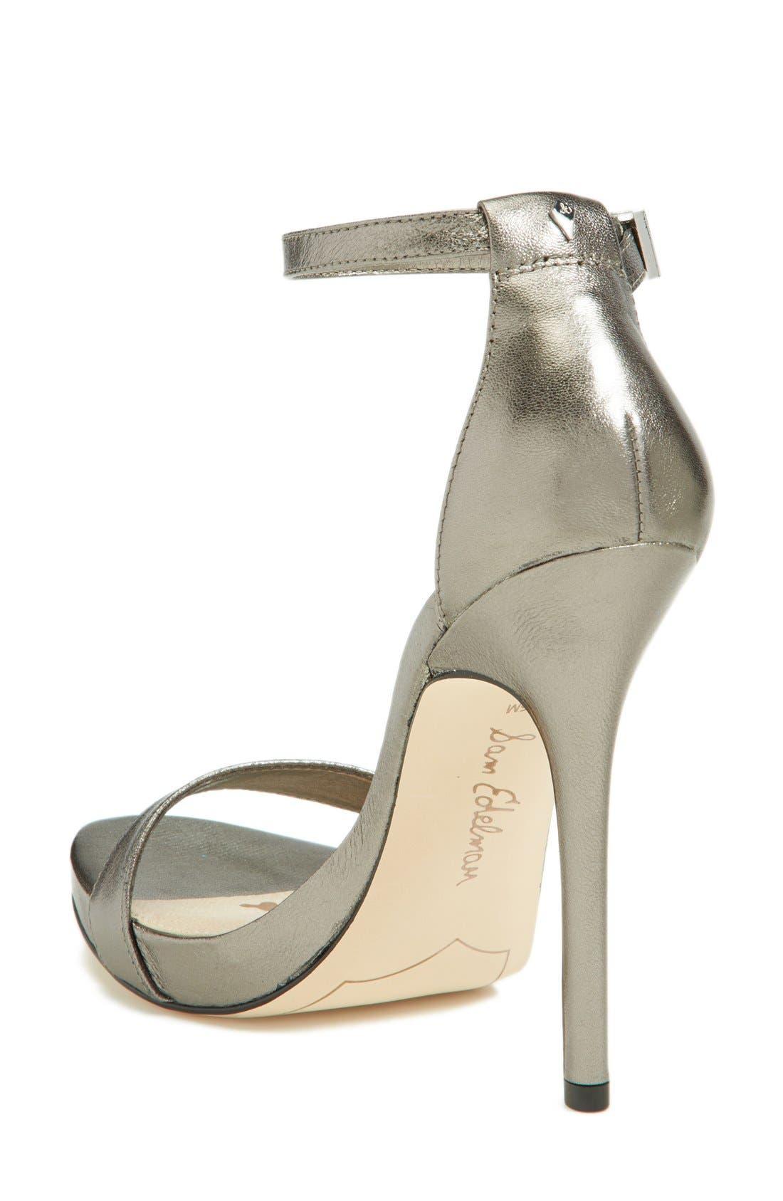 ,                             'Eleanor' Ankle Strap Sandal,                             Alternate thumbnail 63, color,                             040