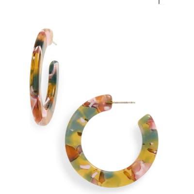 Madewell Acetate Hoop Earrings