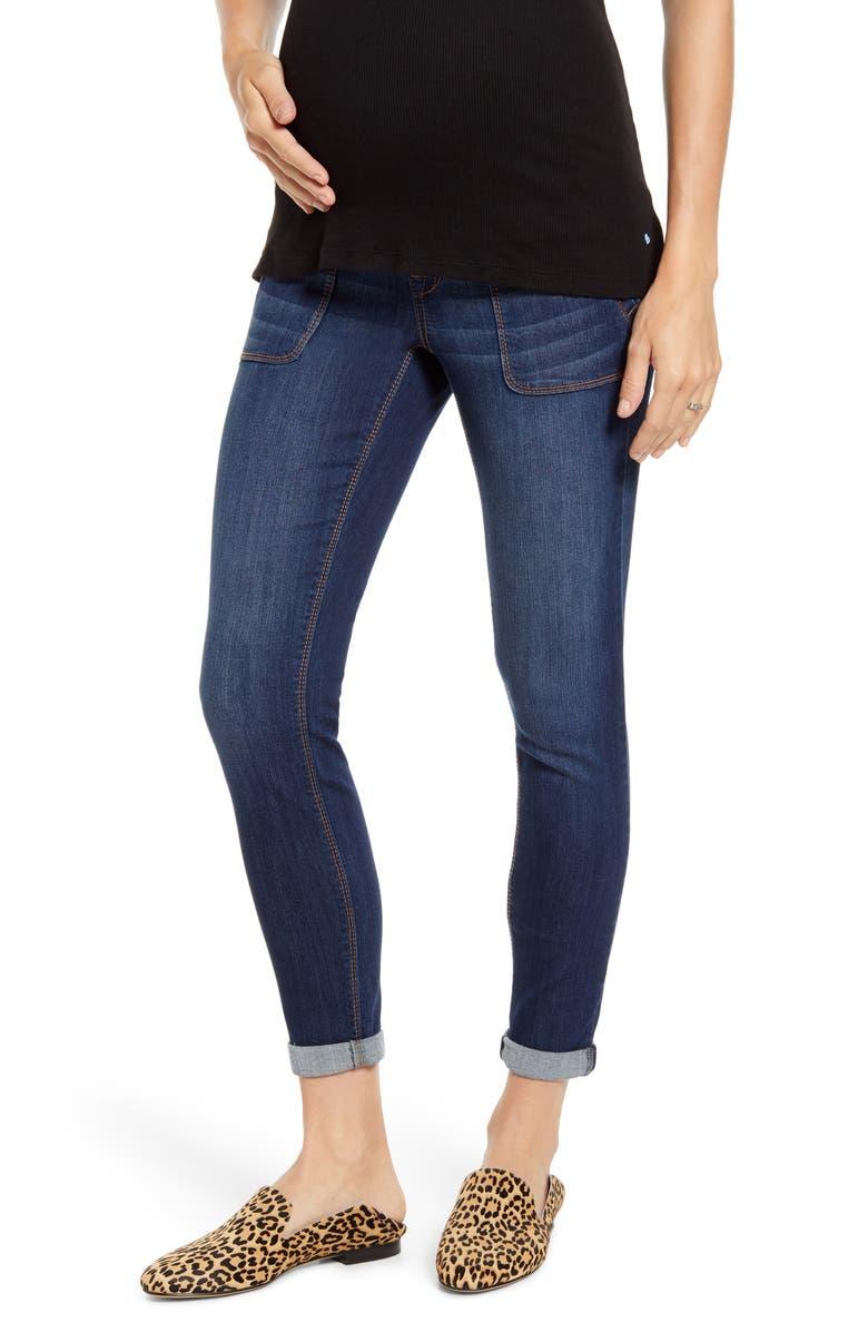 1822 DENIM Maternity Skinny Jeans, Main, color, EMILY