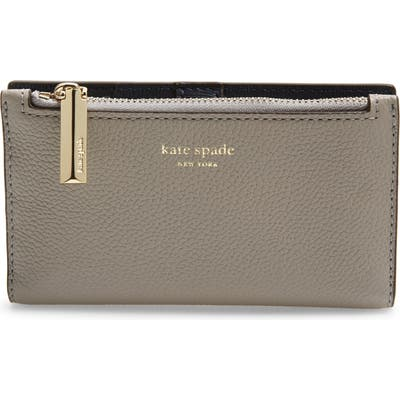 Kate Spade New York Margaux Slim Bifold Wallet - Grey