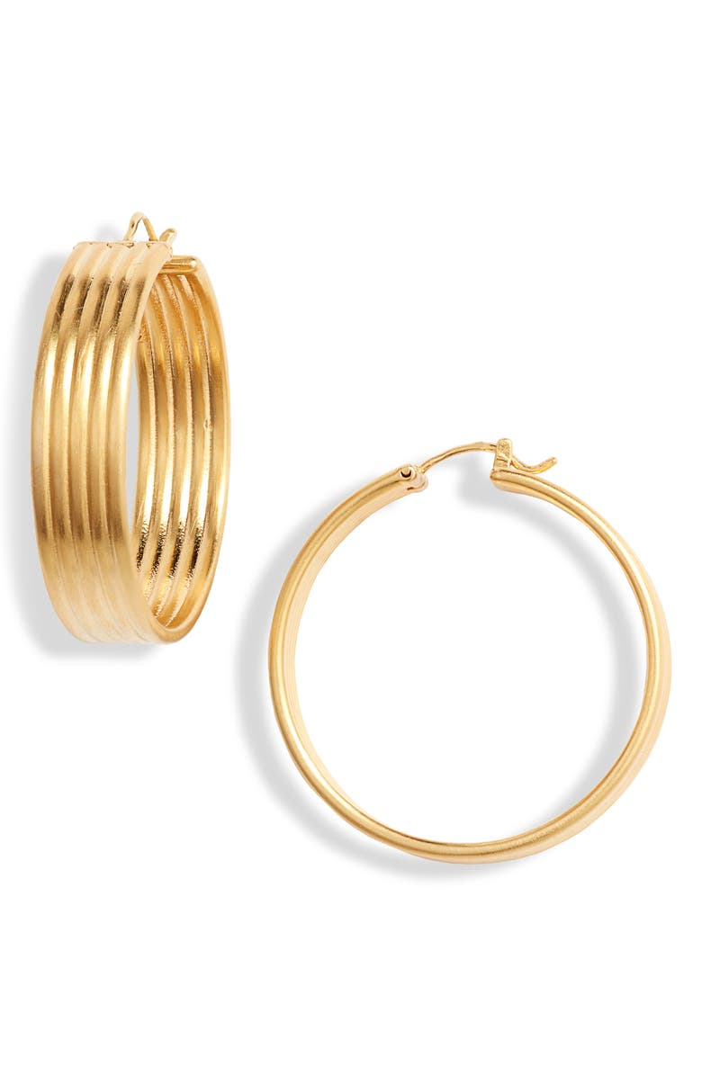 DEAN DAVIDSON Savannah Collection Hoop Earrings, Main, color, GOLD