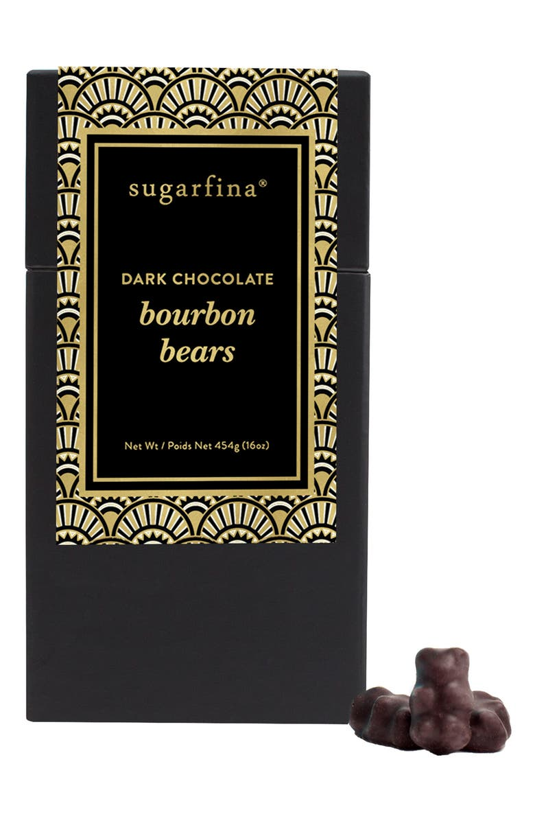 SUGARFINA Dark Chocolate Bourbon Bears, Main, color, 001