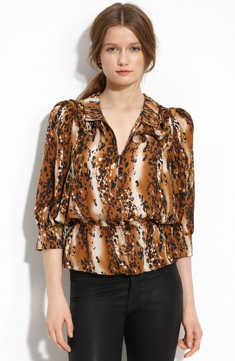 PARKER Dolman Sleeve Silk Blouse, Main, color, 240