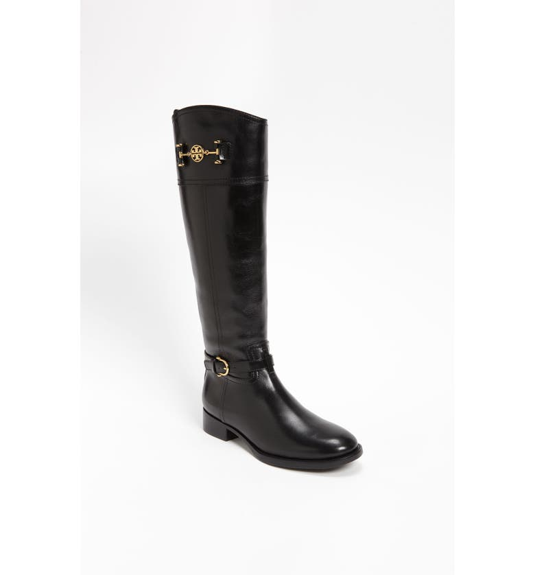 TORY BURCH 'Nadine' Riding Boot, Main, color, 001