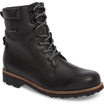 Pajar David Plain Toe Waterproof Boot, Black
