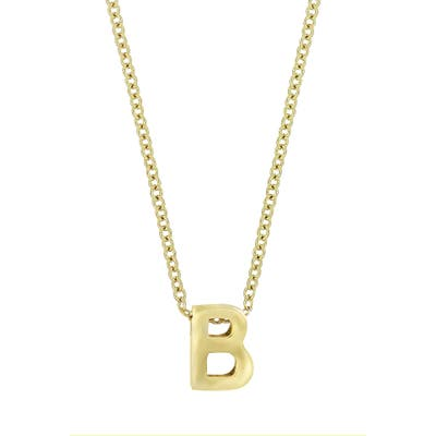 Bony Levy Initial Pendant Necklace