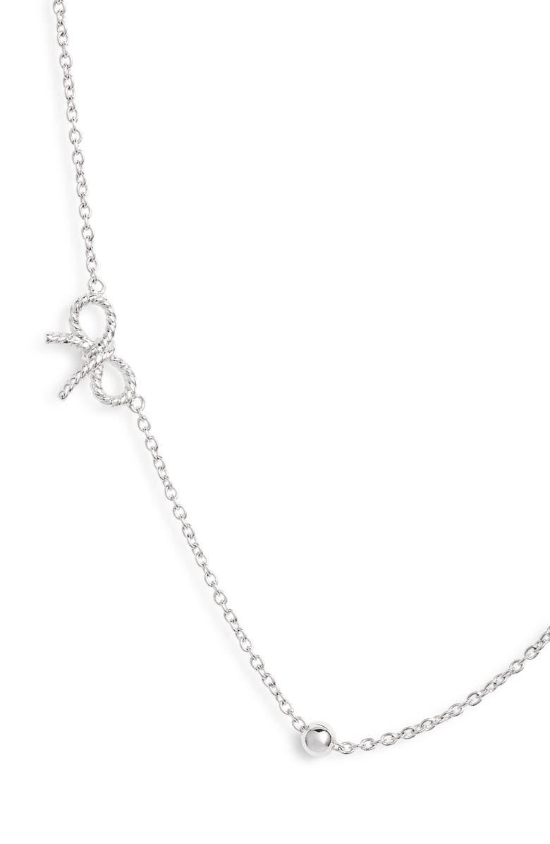 OLIVIA BURTON Bow Chain Necklace, Main, color, 042