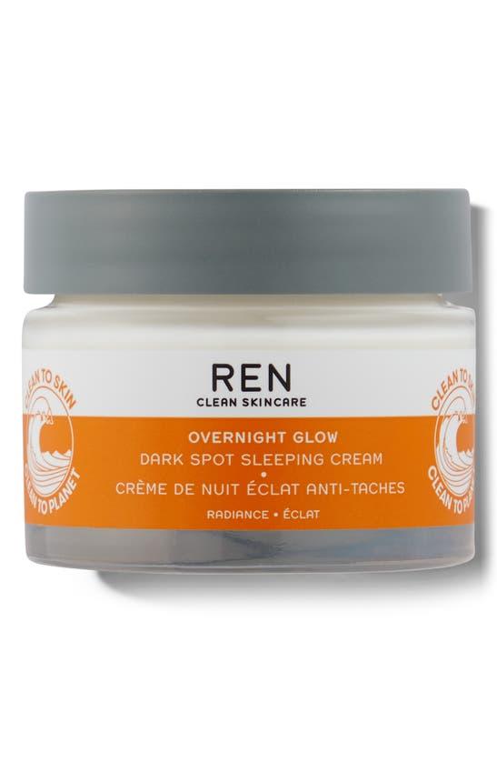 Ren Clean Skincare Ren Overnight Glow Dark Spot Sleeping Cream 1.7oz