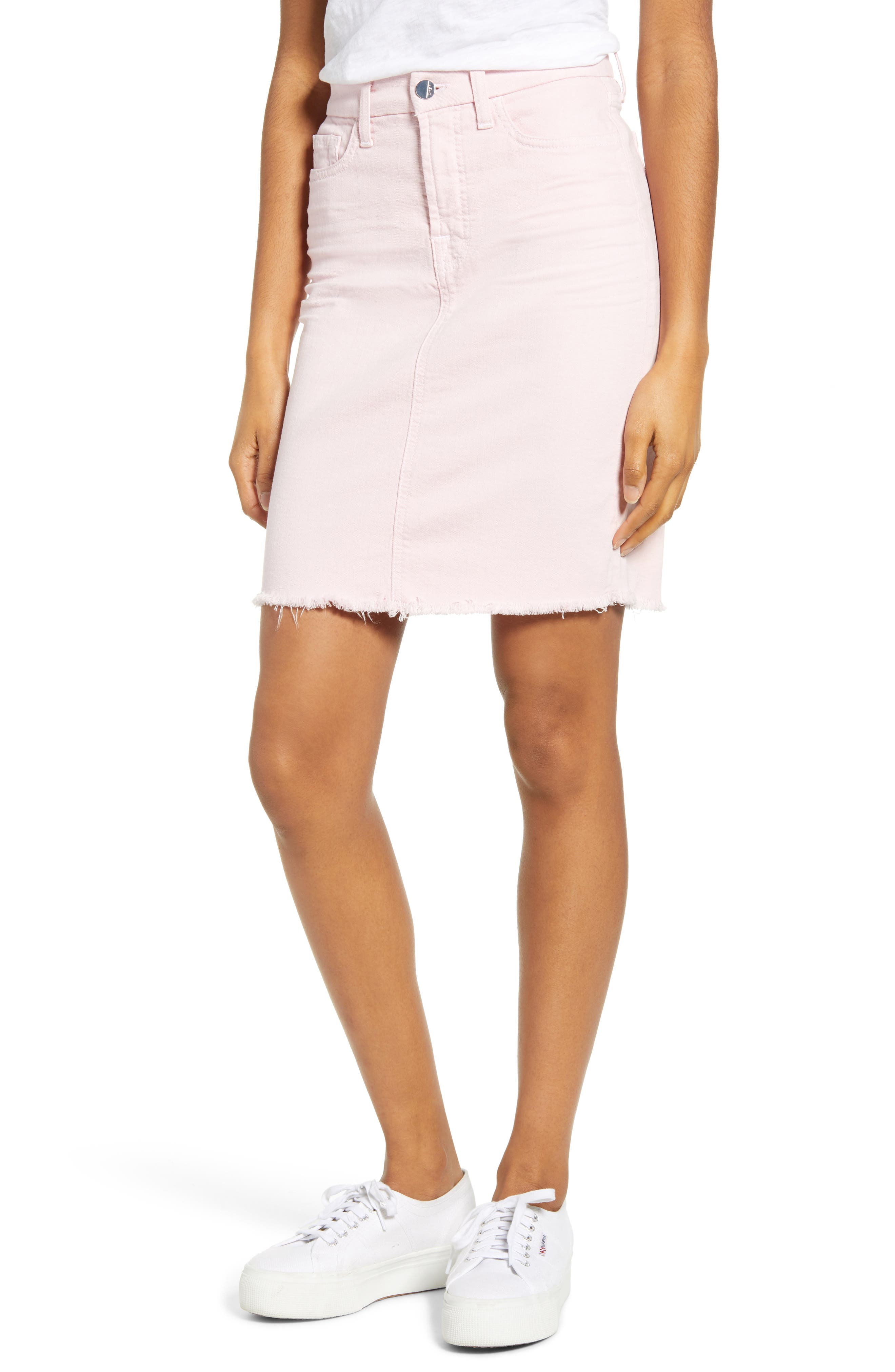 By 7 For All Mankind Denim Pencil Skirt
