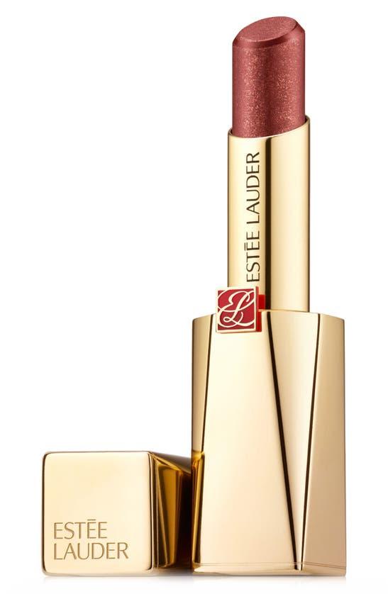 Estée Lauder Pure Color Desire Rouge Excess Creme Lipstick In Deny-chrome