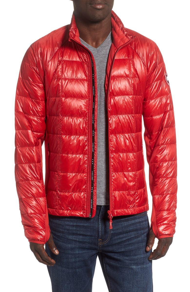 CANADA GOOSE 'Hybridge<sup>™</sup> Lite' Slim Fit Packable Jacket, Main, color, RED