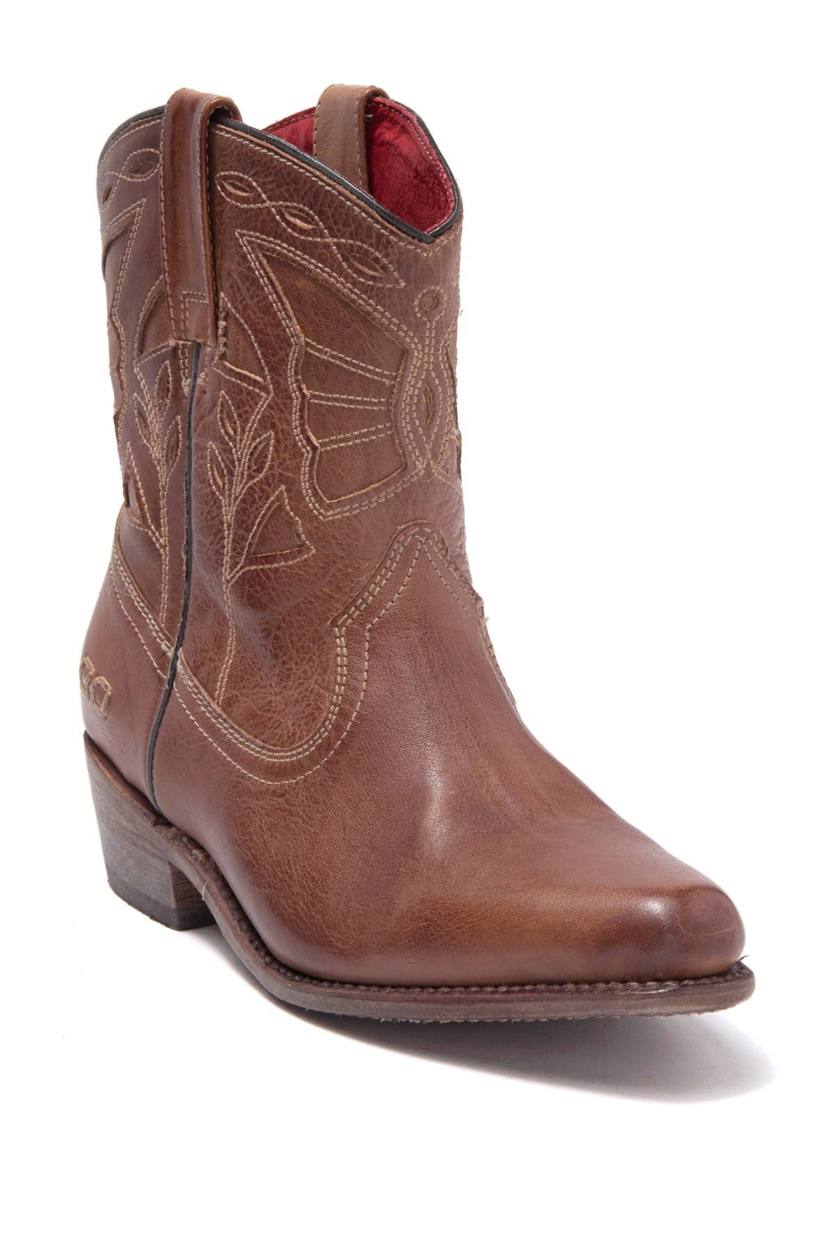 Image of Bed|Stu Filly II Butterfly Western Leather Boot