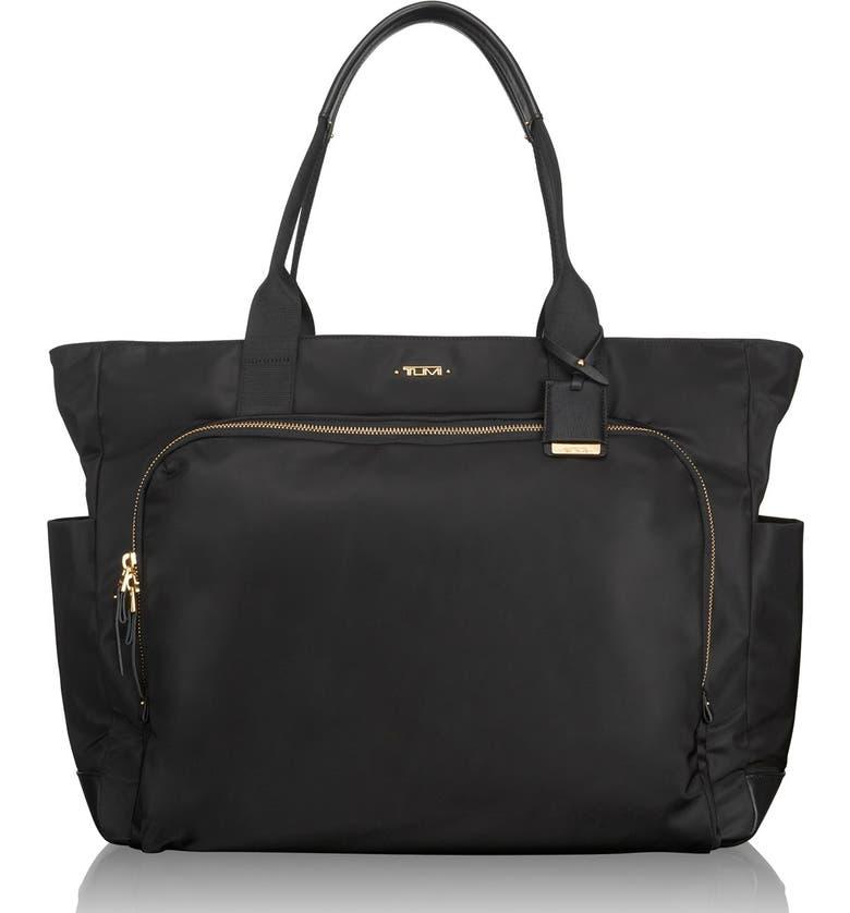 TUMI Mansion Shoulder Tote/Baby Bag, Main, color, 001