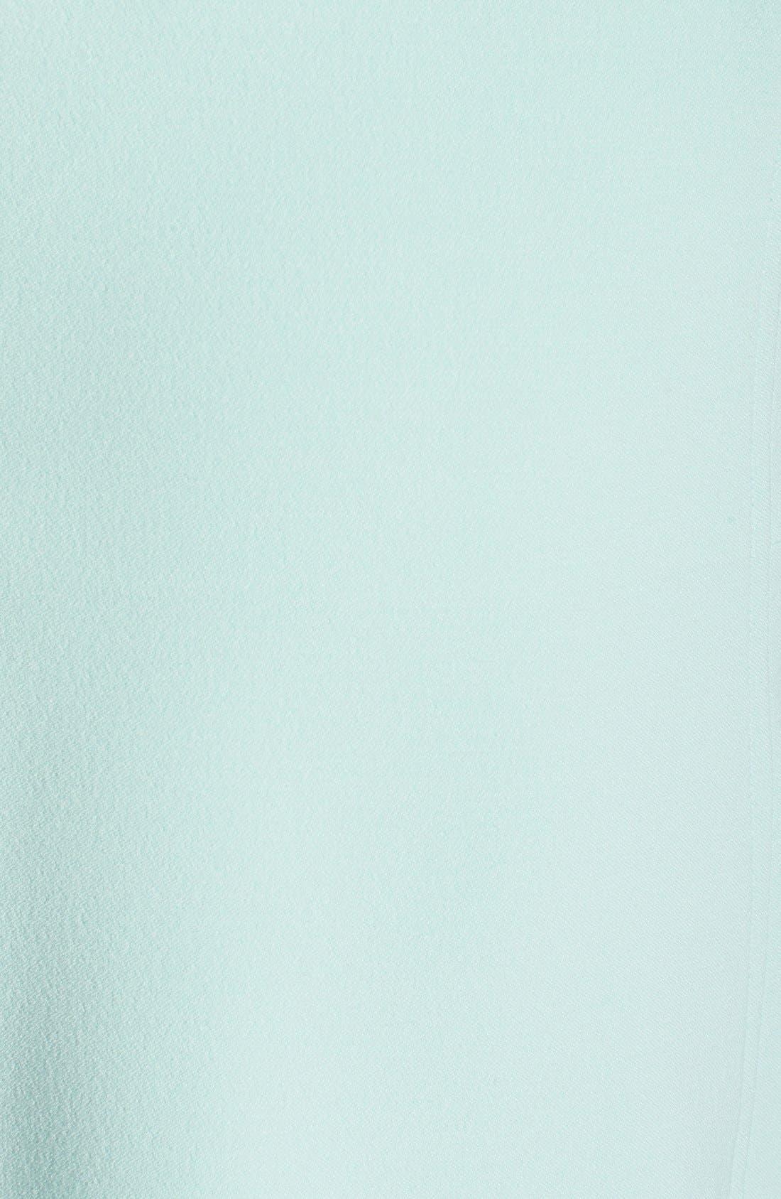 ,                             Illusion Yoke Crepe Sheath Dress,                             Alternate thumbnail 40, color,                             449