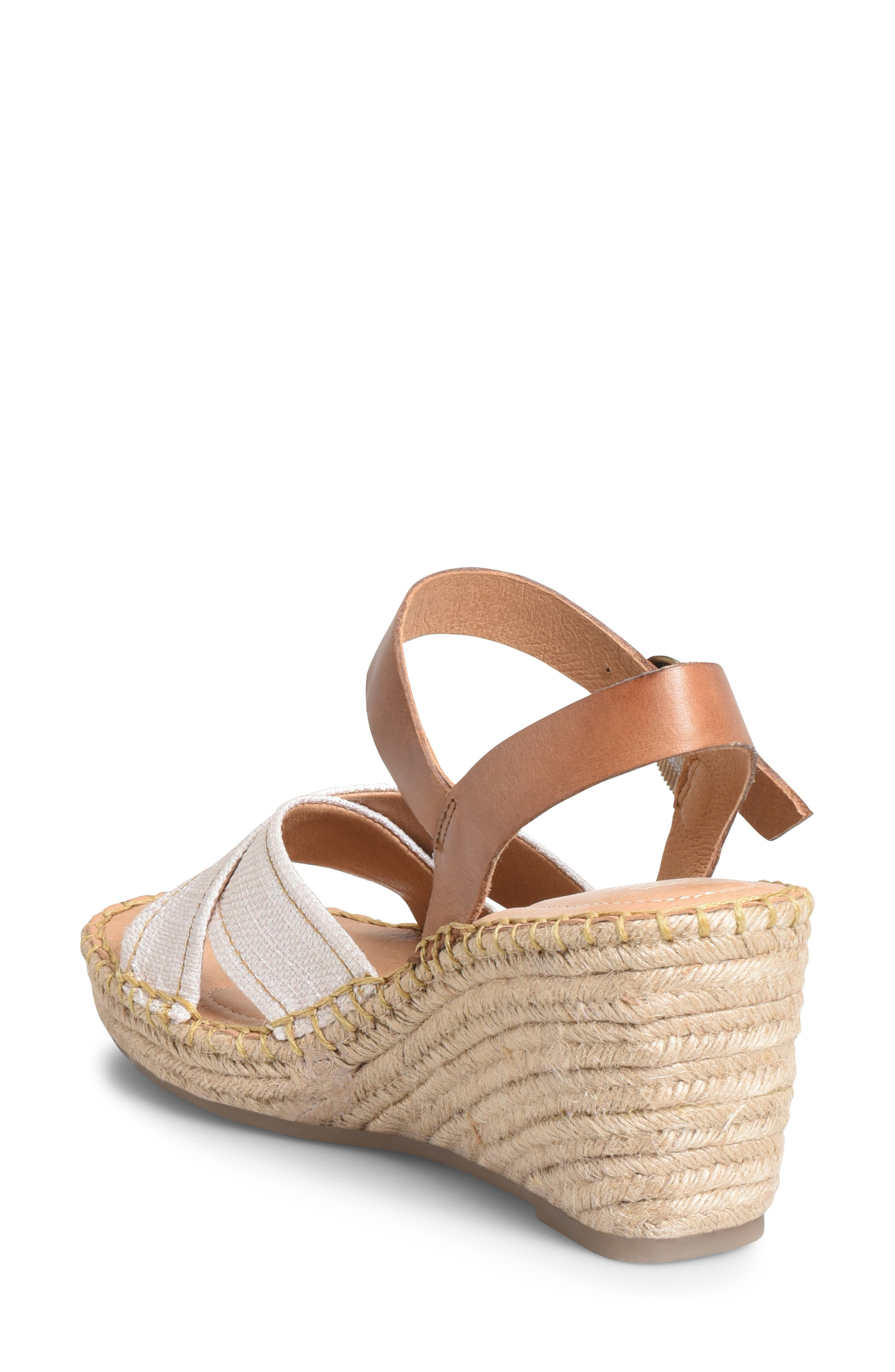 ,                             Payette Wedge Sandal,                             Alternate thumbnail 2, color,                             NATURAL/ TAN LEATHER