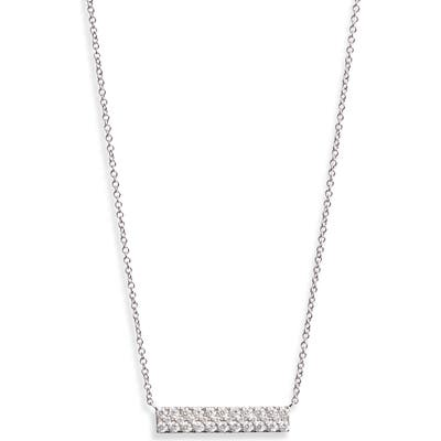 Bony Levy Bardot Pave Diamond Bar Necklace (Nordstrom Exclusive)