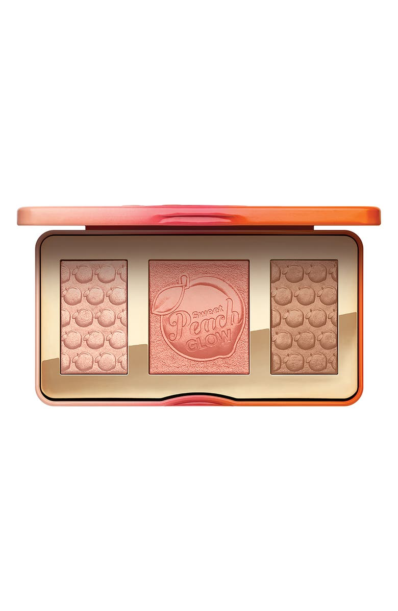 TOO FACED Sweet Peach Glow Highlighting Palette, Main, color, NO COLOR