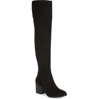 Bp. Luke Over The Knee Boot- Black