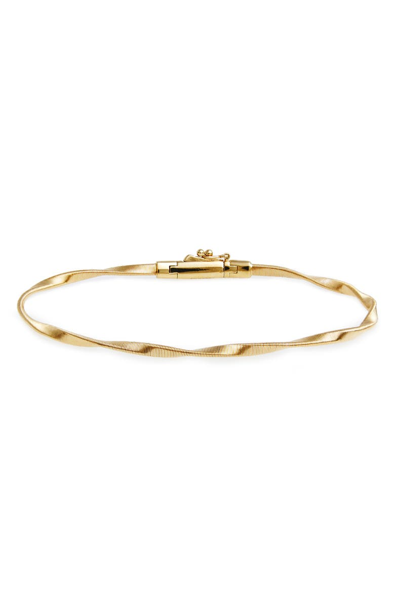 MARCO BICEGO 'Marrakech' Single Strand Bracelet, Main, color, YELLOW GOLD