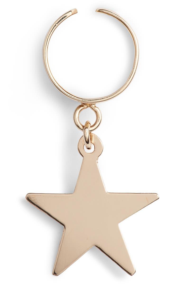 LOREN STEWART Star Ear Cuff, Main, color, 710