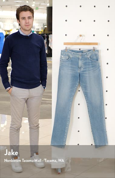 Graduate Slim Straight Leg Jeans, sales video thumbnail