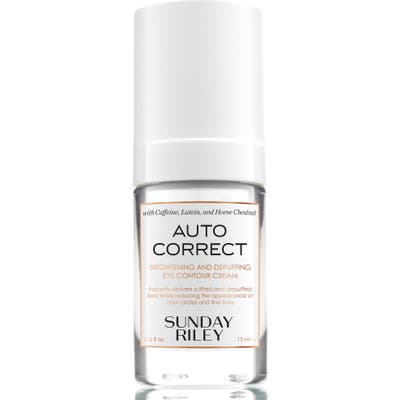 Space. nk. apothecary Sunday Riley Autocorrect Brightening And Depuffing Eye Contour Cream
