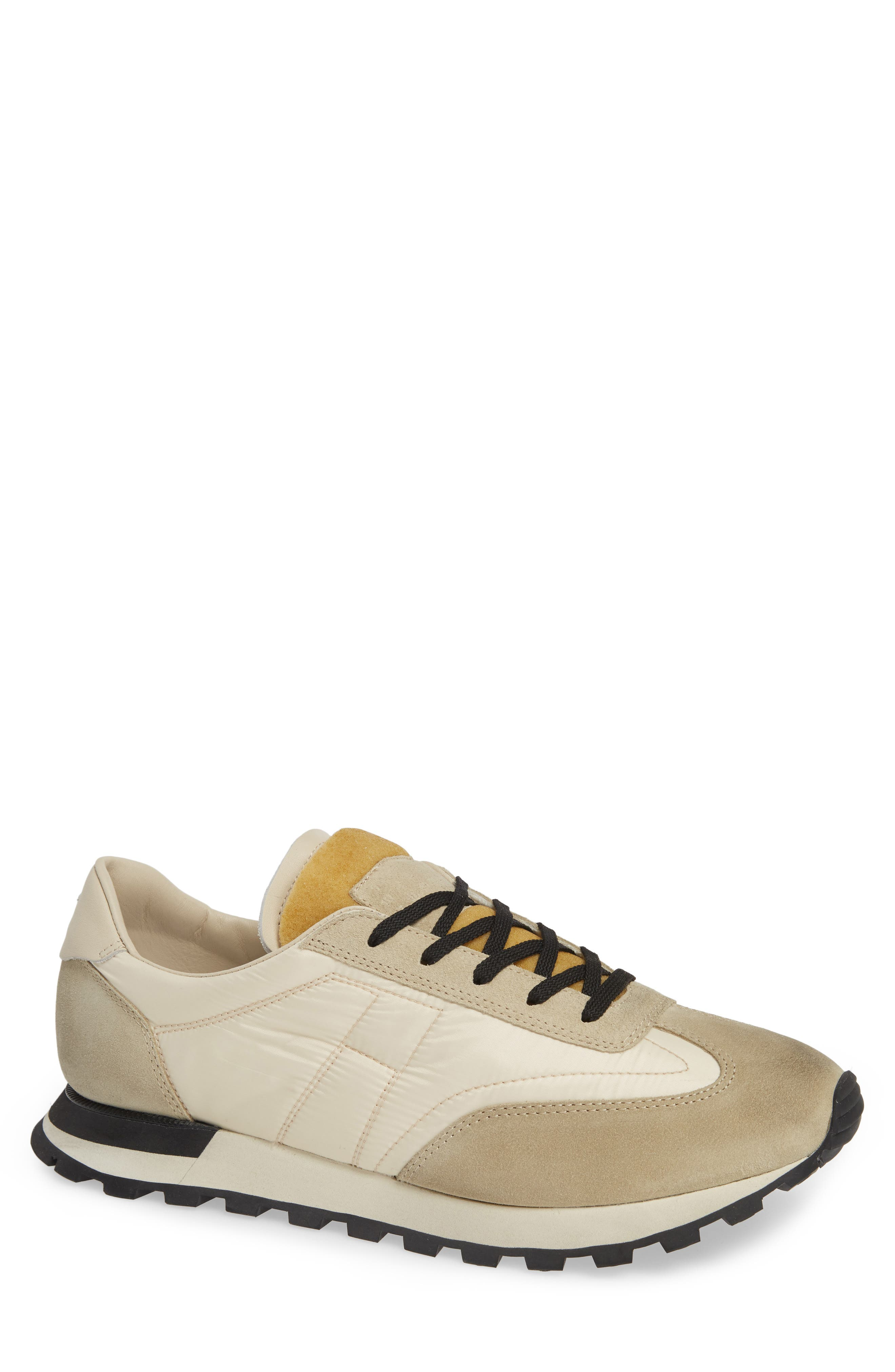Maison Margiela Quilted Sneaker, Brown